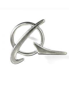 Silver Boeing Logo Pin