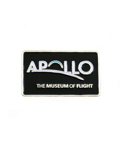 Apollo Exhibit Logo Pin