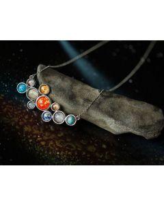 Solar System Bubble Necklace
