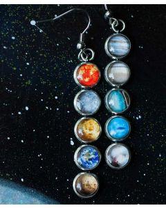 Solar System Mismatch Earrings