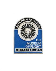 Aviation Pavilion Jet Engine Pin