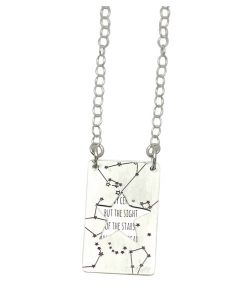 Starry Night Sterling Silver Pendant