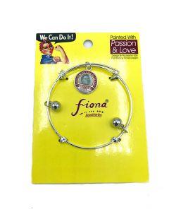 Rosie 1942 Charm Metal Bracelet