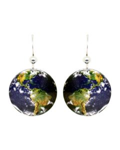 Round Earth Earrings