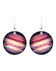 Round Jupiter Earrings
