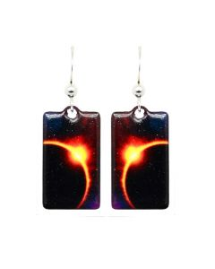Eclipse Square Earrings