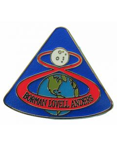 Apollo 8 Mission Pin