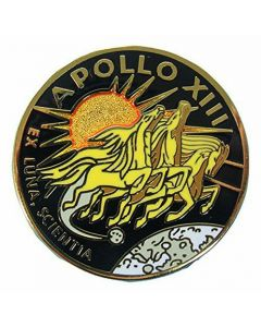 Apollo 13 Mission pin