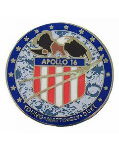 Apollo 16 Mission pin