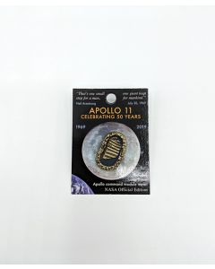 Apollo 11 First Footprints Pin