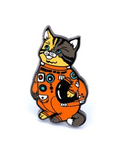 Astro Cat Enamel Pin