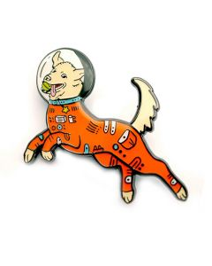 Astro Dog Enamel Pin