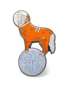 Space Wolf Enamel Pin