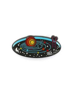 Solar System Space Pool Pin
