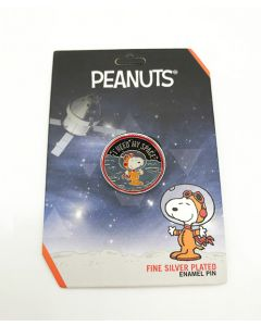 Peanuts I Need My Space Astronaut Snoopy Pin