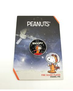 Peanuts 2019 Astronaut Snoopy Round Pin