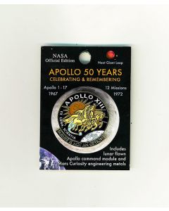 Apollo 13 50th Anniversary Pin