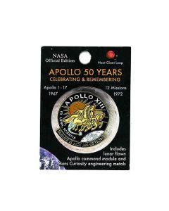 Apollo 13 Mission 50th Anniversary Pin