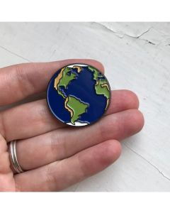 Yugen Earth Enamel Pin