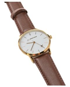 Boeing Women's Gold Rotating Airplane Watch