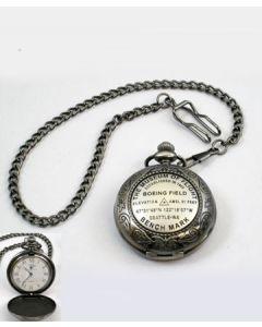 The Museum of Flight Bench Mark Pocket Watch