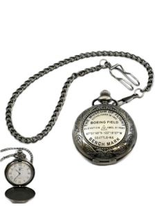 The Museum of Flight Bench Mark Pocket Watch