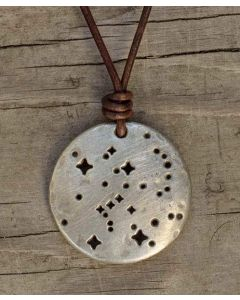 Orion Constellation Cord Necklace