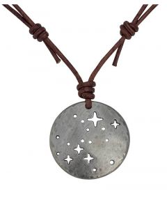 Canis Major Constellation Leather Necklace