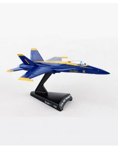 F/A-18 Hornet Blue Angel 1:150 Postage Stamp Model