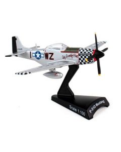 P-51 Mustang 78th FG Postage Stamp 1:100 Model