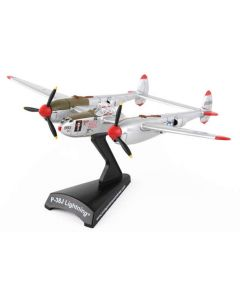 P-38J Lightning Marge Postage Stamp 1:115 Model