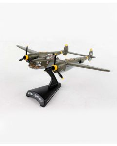 P-38J Lightning 23Skidoo Postage Stamp 1:115 Model