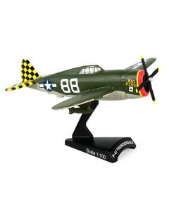 P-47 Thunderbol Postage Stamp 1:100 Model