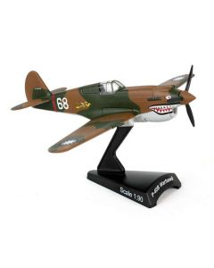 P-40 Hells Angel Postage Stamp 1:90 Model