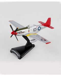 P-51D Mustang Tuskegee Postage Stamp 1:100 Model