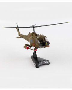 Bell UH-1C Huey Gunship Postage Stamp 1:87 Model