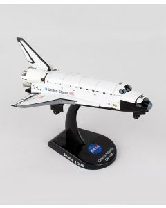 Space Shuttle Atlantis Postage Stamp 1:300 Model
