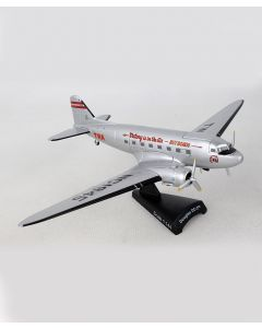 TWA Douglas DC-3 Postage Stamp 1:144 Model