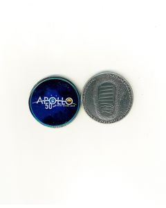 Apollo Next 50 Medallion with Velvet Box