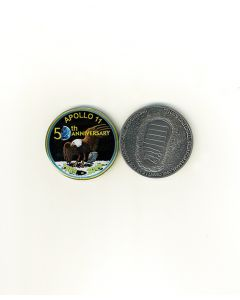 Apollo 11 50th Anniversary Medallion & Velvet Box