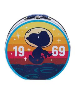 NASA Snoopy Astronaut 1969 Tin Tote