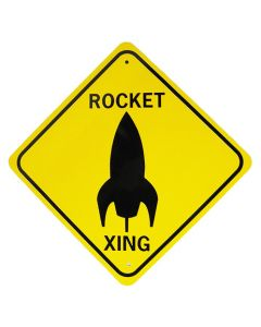 Small Rocket Crossing Sign