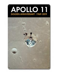 Apollo 11 50th Anniversary CSM in Orbit Sign