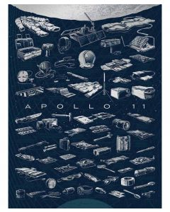 "Apollo 11 Collection 18""x24"" Print"