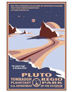Pluto Tombaugh Regio Planetary Park Print