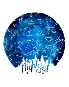The Night Sky Constellations Art Print