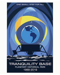 Tranquility Base Planetary Historical Park Poster