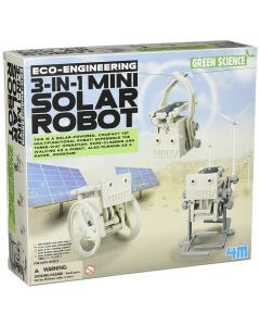 3 In 1 Mini Solar Robot Kit