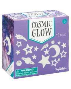 Glow Star and Moon Stickers 40 Pack