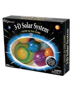 3-D Glow in the Dark Solar System